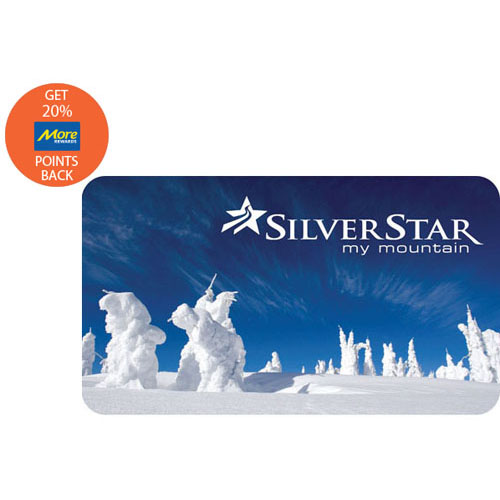 Silver Star Mountain Resort $85 Gift Card