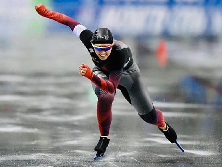 Marsha Sweeney, White City, Speed Skating